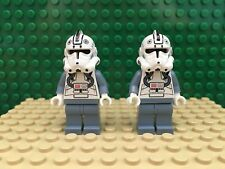 LEGO Lot of 2 Clone Pilot Minifigure from sets #7259 #6205 Starfighter sw118