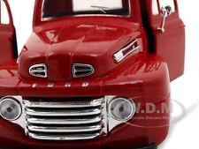 1948 FORD F-1 PICKUP RED 1:25 DIECAST MODEL CAR BY MAISTO 31935