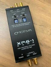 Emotiva XPS-1 Gen 2 phono preamp