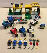 Lego 6426 City Town Jr Super Cycle Center Motorcycle Trike Complete 1998