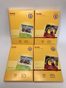 "200 Sheets Kodak Photo Paper 6""x4"" Mixed Lot 180gsm & Premium 240gsm Gloss"