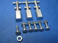 3 Stück Kipphebel für Revox der B-Serie B77,B750,PR99 usw aus Vollmetal