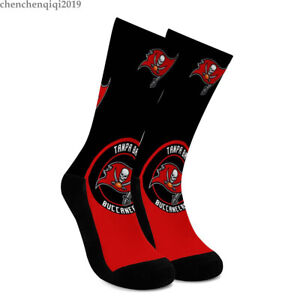 Tampa Bay Buccaneers Socks Breathable Fans Crew Socks Comfortable to wear Gift