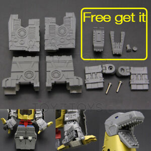 Foot Soles Arm Fill Parts Tooth Upgrade Kit For Studio Series SS86 Grimlock fill