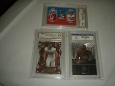 Donruss Zenith RC Roll Call #RC-12 FGore ,Winborn/Wilson RC,JE graded lot of 3