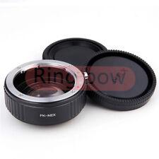 Focal Reducer Speed Booster Adapter Pentax K PK Lens to Sony NEX ZV-E10/A1/A7C
