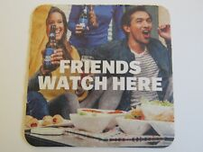 Beer Coaster ~ 2017 Anheuser-Busch BUD LIGHT ~ Win 4 Super Bowl Tickets for Life