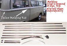 VW Vintage Parts Molding Kit, Delux Bus,German, ' 68 - ' 71, 13 pcs