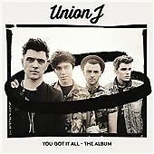 Union J - You Got It All (The Album, 2014) CD CASE SIGNED