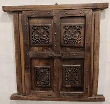 old used Vintage wooden doors window shutter reclaimed doors 13