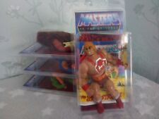 5 Protective Cases For loose original He-man Masters Of The Universe MOTU