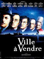 """Affiche120 x 160  du film """"VILLE A VENDRE"""" de Jean Pierre Mocky ."""