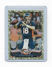2012 TOPPS Peyton Manning CAMO Parallel Serial #167/399 Card #200