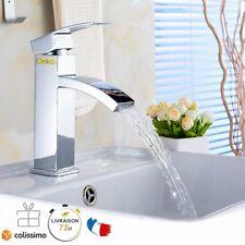 Robinet Lavabo Mitigeur Salle de bain �‰vier Laiton & Flexibles