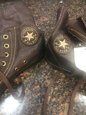 Converse Chuck Taylor All-Star  Leather Black Hi 8 1/2 Mens