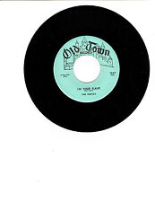 The Fiestas DOO-WOP 45(OLD TOWN 1069)Our Anniversary/I'm Your Slave NM-