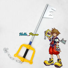 "Anime Kingdom Hearts II Kingdom Key Sora's Keyblade Cosplay Weapon Prop 39"" Long"