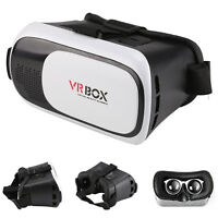 Brand New 3D VR Box Virtual Reality Glasses Goggles Helmet Headset ios Android