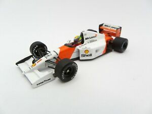 Mclaren Honda MP4/7 V12 Ayrton Senna #1 1992 MINICHAMPS 1/43 F1 Formula 1