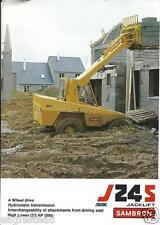 Fork Lift Truck Brochure - Sambron - J24S - Jacklift (LT239)