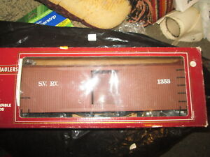 G scale Bachmann 93223 Stumper Valley Reefer in box.