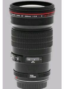 Canon EF 200MM F2.8 USM L lens