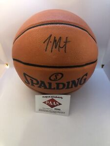 Ja Morant Signed Spalding Basketball Rookie Of The Year With PAAS COA
