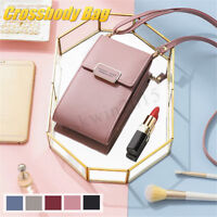 PU Leather Fashion Crossbody Mobile Phone Shoulder Bag Pouch Card Handbag Wallet