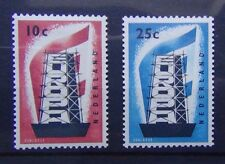 Netherlands 1956 Europa set MM