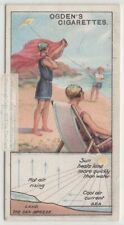 Cool Ocean Shore Sea Breeze Creation Explained c90 Y/O Trade Ad Card