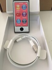 Apple iPod Nano 7th Generation Space Grey (16GB) A1446 and Cable Bundle