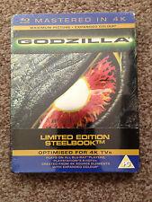 GODZILLA BLU RAY STEELBOOK 1998 NEW/SEALED