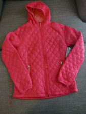 Womens Windbreaker Jacket Free Country NWT Small Coral/Peach Lightweight & Warm