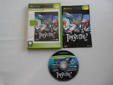 TimeSplitters Time Splitters 2 (PAL) Xbox Microsoft Complete OVP CIB