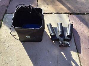 Preston Innovations Triple Rod Support Box Accessory and Drop bucket