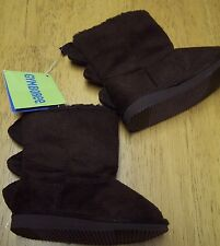 NWT GYMBOREE PREPPYSAURUS DINO SPIKE BOOTS with FAUX FUR LINNG sz 04 TODDLER