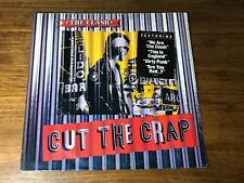 THE CLASH ~ CUT THE CRAP ~ ORIGINAL FIRST PRESS LP STILL FACTORY SEALED ~ 1985