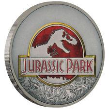 Niue 2 Dollar 2018 25 Jahre Jurassic Park 1 Oz Silber Antik Finish AF