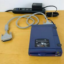 Iomega Zip 100 MB Drive Power Adapter DB25 Parallel Cable Z100P2 Works Vtg Media