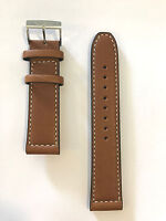 Original Citizen Avion 22mm Brown Leather Band Strap for Watch AW1361-10H