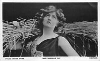 C-1910 Stage Actress Miss Gabrielle Ray RPPC real photo postcard 7372