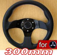Volante Deportivo 300mm para Mitsubishi FTO GTO Lancer EVO 3000GT Montero