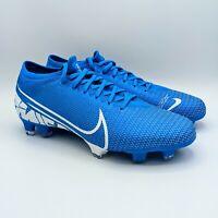 Nike Mercurial Vapor 13 PRO FG Men's Size 7 Blue Soccer Cleats AT7901-414