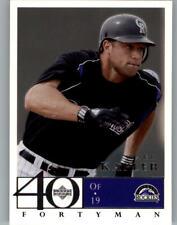 2003 Upper Deck 40-Man Baseball Card Pick 751-990
