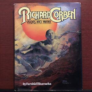Richard CORBEN Flights Into Fantasy Bharucha Underground Comix Hardcover RARE 👀