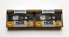 Two (Brand New) Denon HD8 90 *Metal Particle* High Bias Cassette Tapes