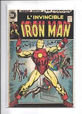 HERITAGE L'INVINCIBLE IRON MAN #8 A 106  20 assorted numbers VG/FINE
