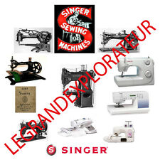 Huge Singer Sewing Machine Operation Parts Repair Service manual Collection DVD