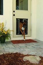 Plexidor Premium DOOR Mounted Bronze Pet Doors in 4 Sizes