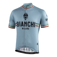 Bianchi Milano ISALLE CELESTE Cycling Jersey | Made in Italy